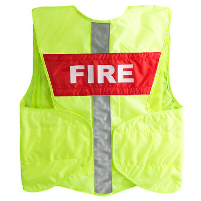 StatPacks G3 Safety Vest Replacement Name Plate - Red Fire
