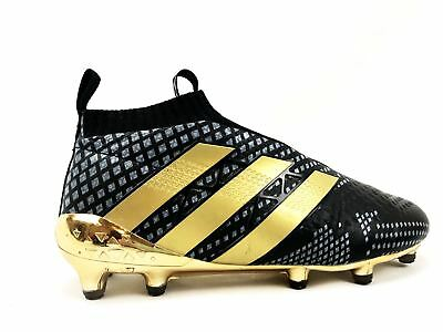 more photos ae221 79286 adidas ace 16 purecontrol paul pogba mens soccer boots cleats black gold sz  6.5