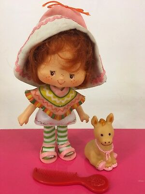 Vintage 1980s Strawberry Shortcake - Cafe Ole with Burrito & Comb