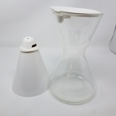 Soma 6-Cup Water Filter Replacement Glass Carafe 41V394B Filters Not Included