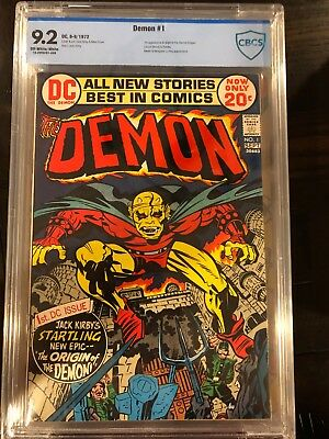 Demon 1 1st app. & origin Etrigan Graded Off-White/White 9.2 AG1-16