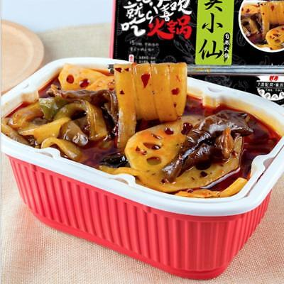 Box Chinese Fast Heating Food Acid Spicy Flavor Chili Vegetable Noodle Kits
