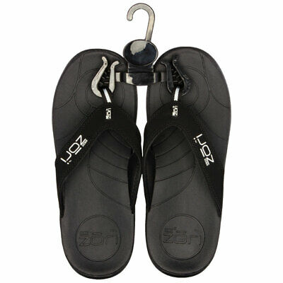 Neat Zori Black Orthotic Thong Size 7 Online Only