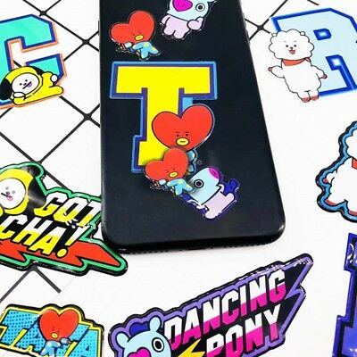 Kpop Phone Decor 3D Bubble Sticker Stickers BTS Stationery Scrapbooking
