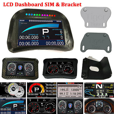 LCD DASHBOARD SIM Racing Game Simulator for Logitech CSW ATS