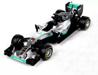 Bburago 1:43 Formula F1 Mercedes AMG 44# Lewis Hamilton Model Racing Car T05