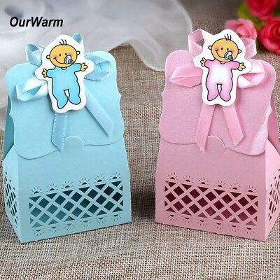 12x Candy Box Gift Boxes Baby Shower Birthday Baptism Christening Party Favour