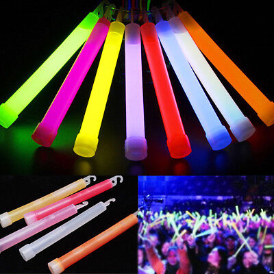 8 Colors Glow Sticks Light Stick Outdoor Camping Emergency Neon Light Stick