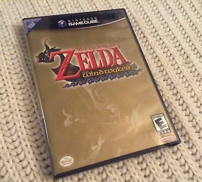 Nintendo Gamecube Game: The Legend of Zelda Wind Waker complete tested