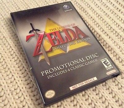 Nintendo Gamecube Game: The Legend of Zelda Collector's Edition complete tested