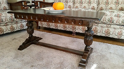 Antique, Vintage, Jacobean, Tudor Coffee Table