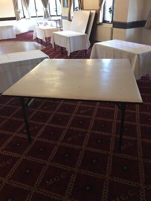 Large Square Banqueting table