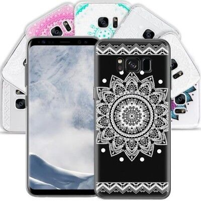 Silicone Motif Mobile Phone Protective Case for Samsung Galaxy TPU Cover Bumper