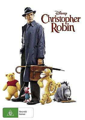 CHRISTOPHER ROBIN Winnie the Pooh and Friends DVD Region 4