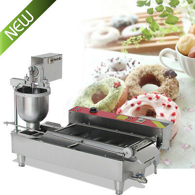 Commercial Auto Donut Maker Making Machine W/Stainless Steel 3Optional Free Mold