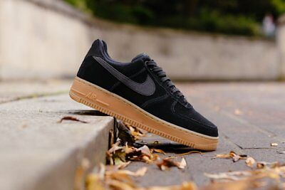 nike air force 1 07 uomo camoscio