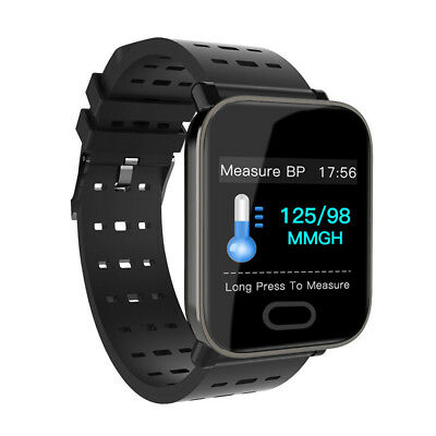 Waterproof Sport Smart Watch Blood Pressure Heart Rate Monitor iPhone Android