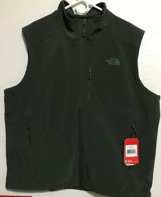 North Face Mens Apex Bionic 2 Vest TNF Climbing Ivy green Size XXL FREE SHIPPING