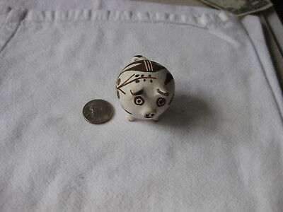 Brown & White New Mexico Pig, by Rose, '79 vintage