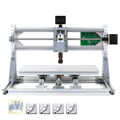 CNC3018 DIY CNC Router Kit 2-in-1 Graviermaschine GRBL Control 3 Achse CU W3I3