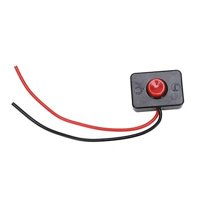 2X(10 x AC 250V 3A 2 Wire Plastic Momentary Push Button Switch for Car Auto N4R9