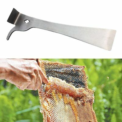 Stainless Steel Thumb Scraper Bee Honey Hive Beekeeping Equipment ToR2