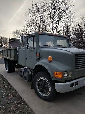 1992 International 4600 CREW CAB 7.3 DIESEL PREVIOUS MILITARY LOW MILES!