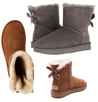 NEW UGG Women's Boots Shoes Winter MINI BAILEY ONE 1 BOW 3 Color HOT All Size