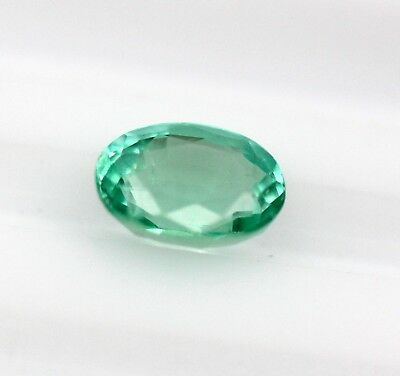 0.85 CT Natural Emerald Loose Oval Cut Gemstone No Heat