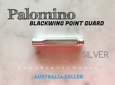 Palomino Blackwing Point Guard Pencil Cap 1pc SILVER Colour Protection Cap Cover