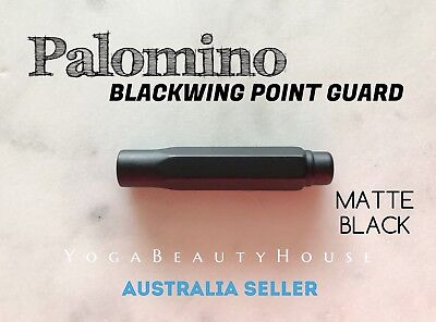 Palomino Blackwing Point Guard Pencil Cap 1pc Matte Black Colour Protection Cove