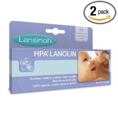 Lansinoh Hpa Lanolin for Breastfeeding Mothers, 1.41 Ounce (Pack of 2) 10201