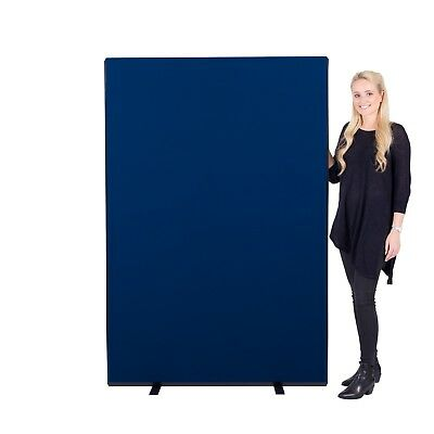New Office Screen Partition Divider, Size 1200mm w x 1800mm h, 3 Fabrics