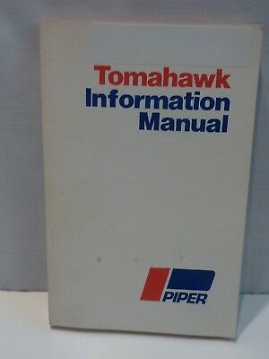 Excellent Piper Tomahawk PA-38-112 Information Manual 761-658