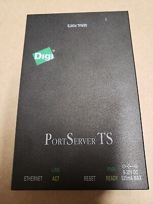 Digi Portserver Ts Rs-232  With Ac Adapter