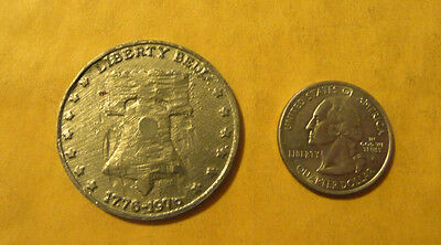 Vintage Religious antique Large token..Liberty Bell 1776-1976