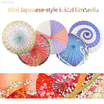 3597 Wooden Handmade Japanese Paper Umbrella Bridal Umbrella Bridal