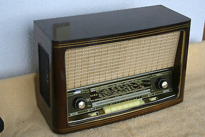SABA WILDBAD 8 , german vintage tube radio, built 1957 , restored !