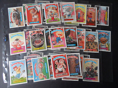 Topps Garbage Gang/ Pail Kids Uk (Ireland) 1988 Series 6 44 Sticker Card Set B