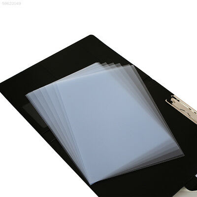 B28F 10pcs/Bag Plastic Smooth Book Binding Case Book Binding Cover Stationery