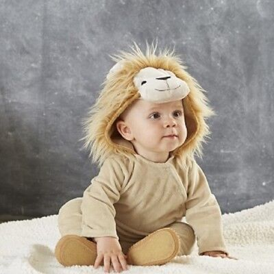 Pottery Barn Baby Kids Lion Costume Size 6-12 Months