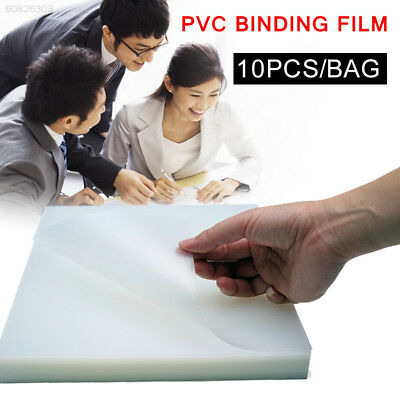 3C45 Plastic 10pcs/Bag Smooth Book Binding Cover Notebook Binding Cover