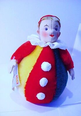 Authentic Steiff  Roly-Poly Replica Clown [ 0116/28 ] 1909-1988 Limited Edition