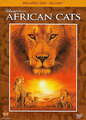 Disney's African Cats  2-Disc Set  (Blu-ray and DVD,)  2011