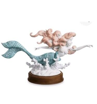The Little Mermaid Ariel Figurine Disney Parks Sold Out Figure New Resin