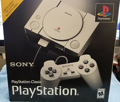 Sony PlayStation Classic Console 20 Built in Games 2 Controllers  Brand New