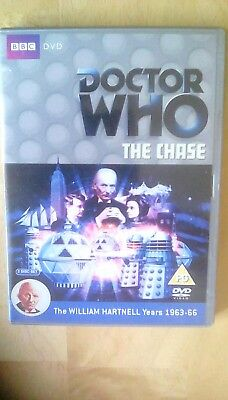 Doctor Who The Chase William Hartnell TV Sci-fi BBC 2 Disc DVD