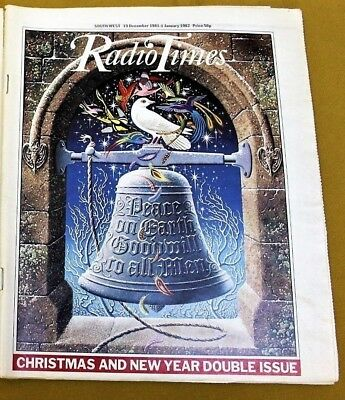 CHRISTMAS RADIO TIMES 19 December 1981-1 January 1982 Xmas Special Double Issue