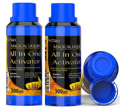 SLIME ACTIVATOR Solution Borax Substitute ALL IN ONE Magical Activator 300ml