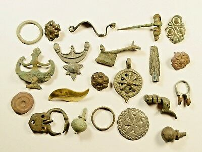 Lot Of Misc. Ancient Bronze Artifacts - Low Starting Price